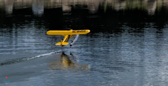 Piper Cub Floatplane Breaking Free.jpg