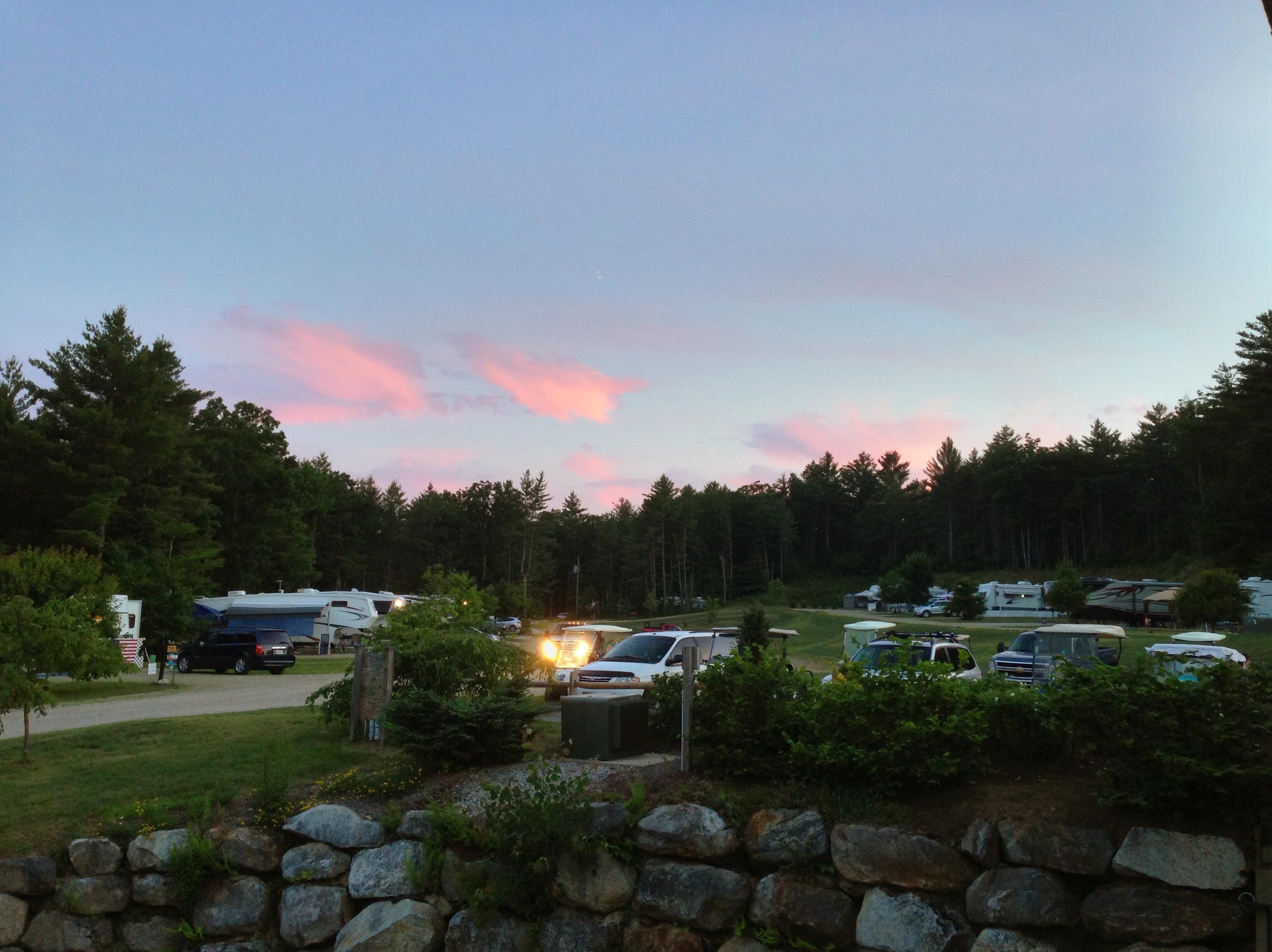 Bluffs Sunset Pro HDR