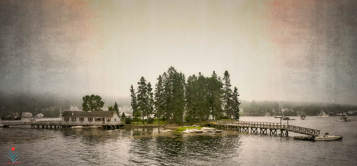 Two Dock Island - Boothbay Harbor Maine