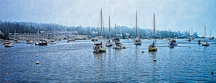 Sailboats - Boothbay Harbor Maine
