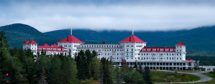 Mount Washington Hotel From Route 302