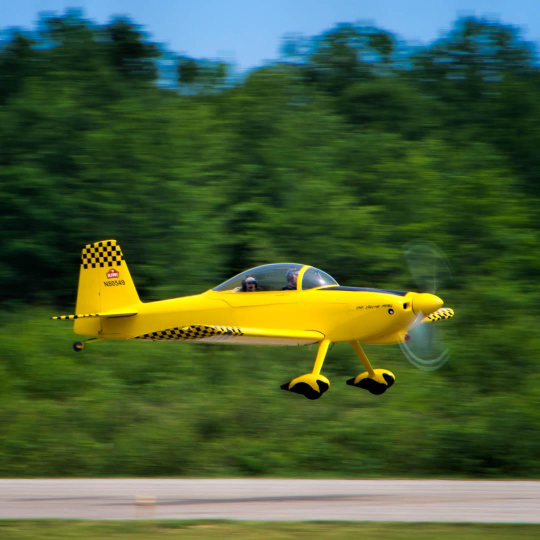 The Yellow Peril - Fryeburg Airport.jpg