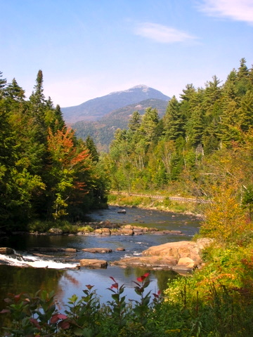 Whiteface Mountain in Wilmington Notch