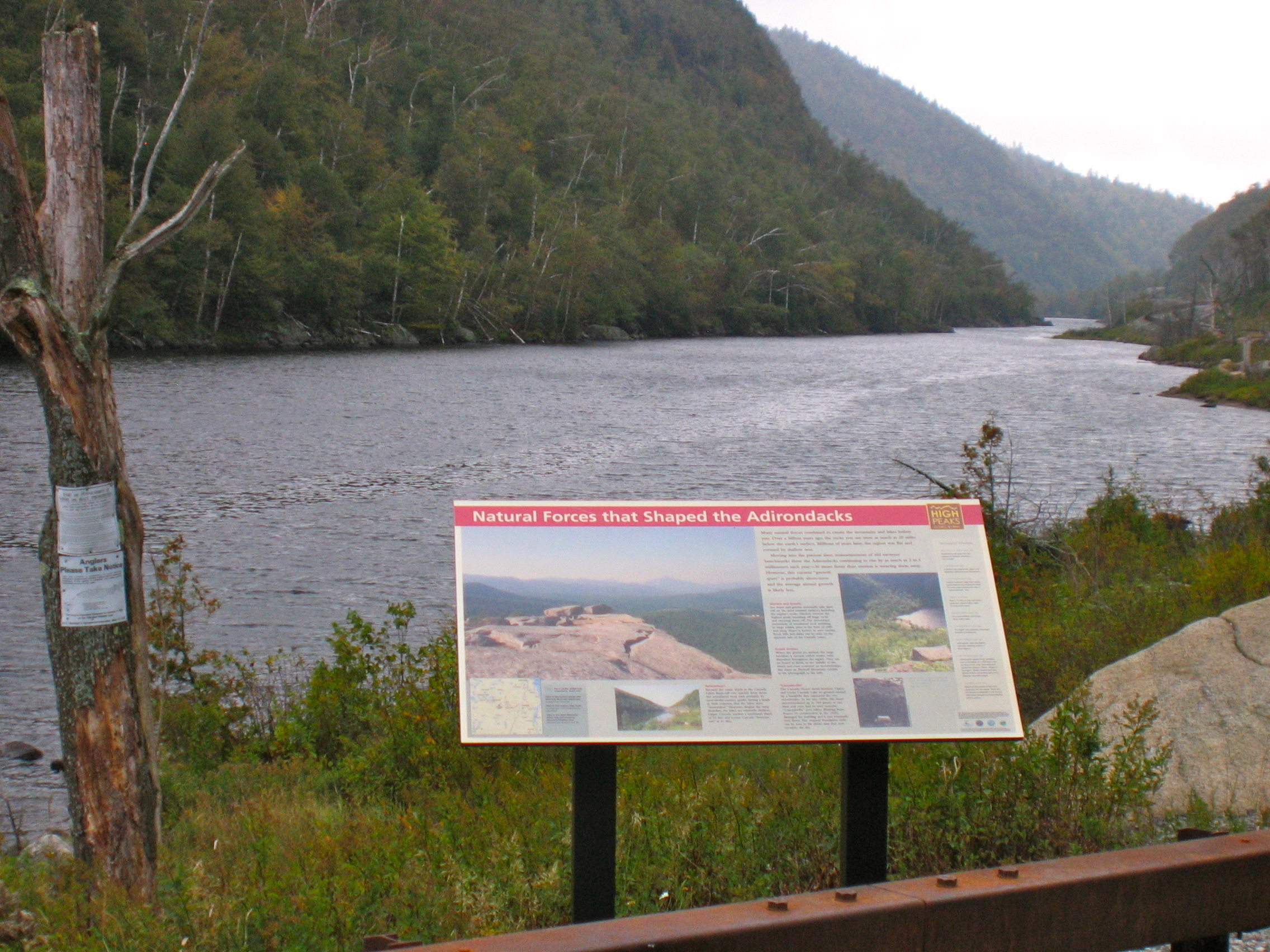 The Cascades into Lake Placid