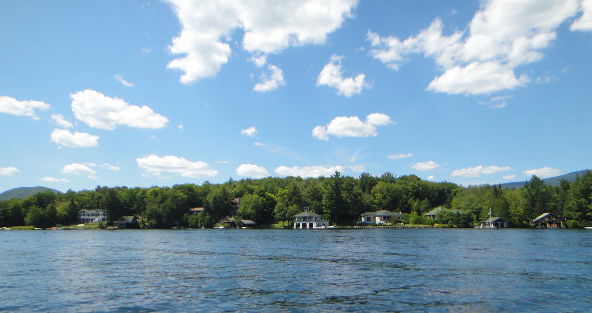 On Lake Placid towards Peninsula
