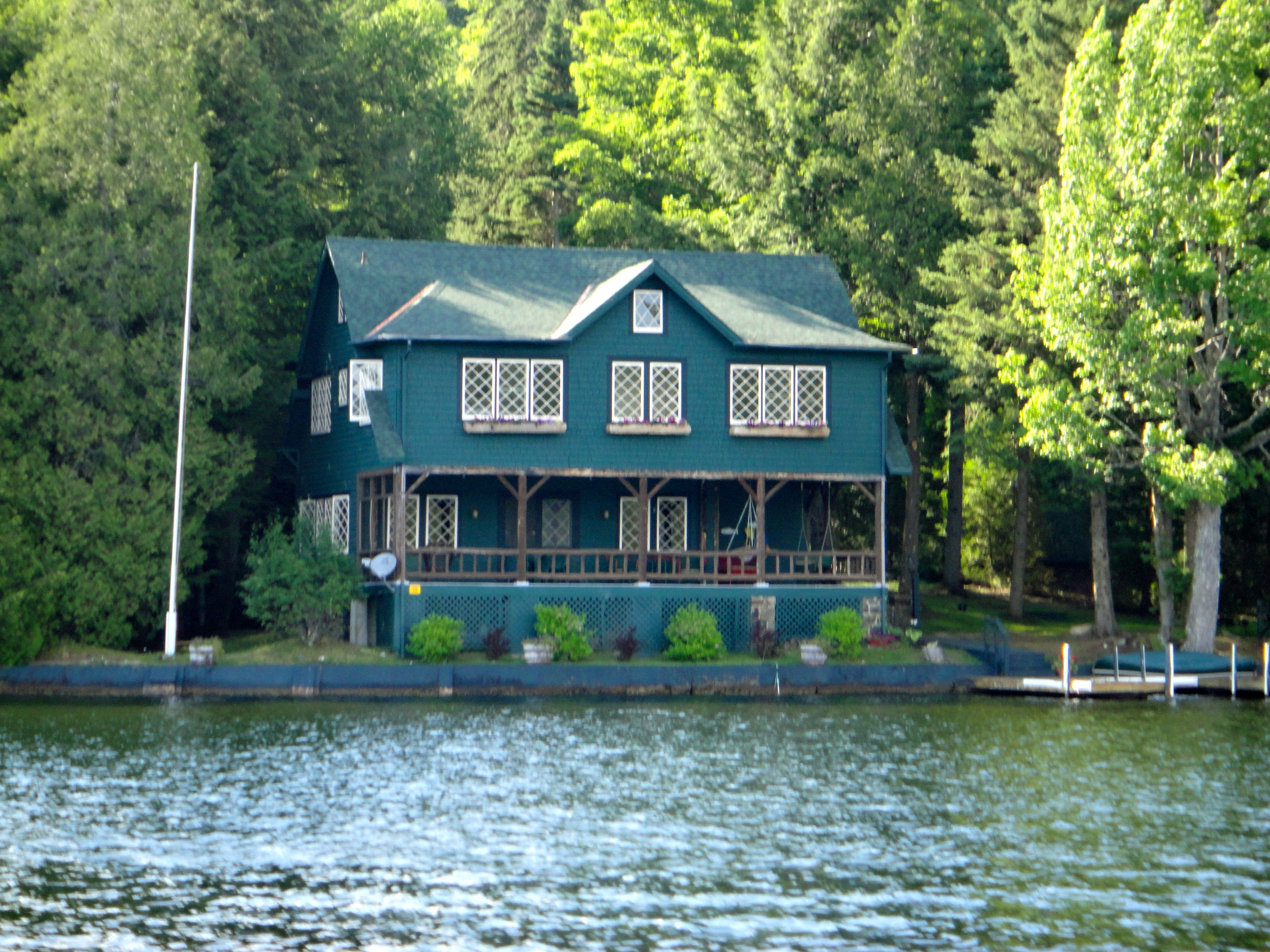 Main Camp on Lake Placid