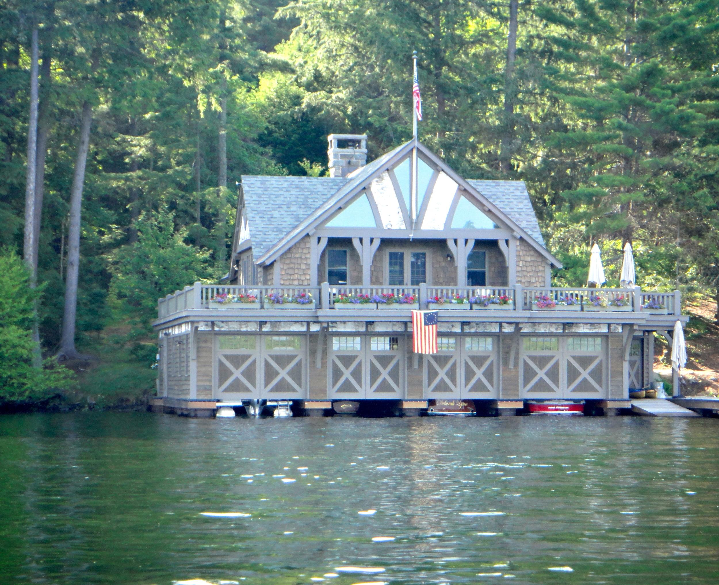 Camp on Lake Placid West Lake