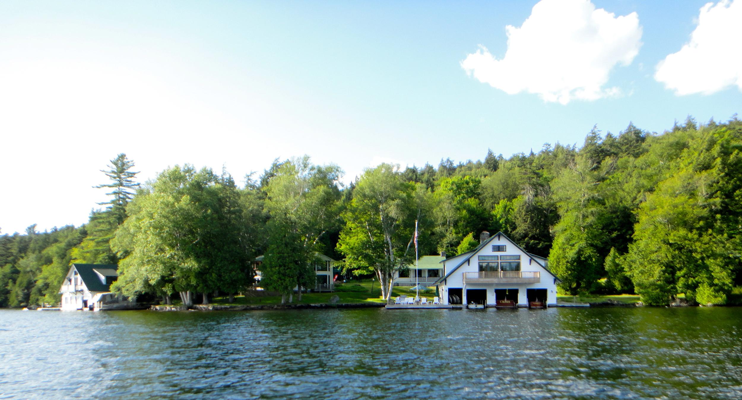 Camp Sunshine on Lake Placid