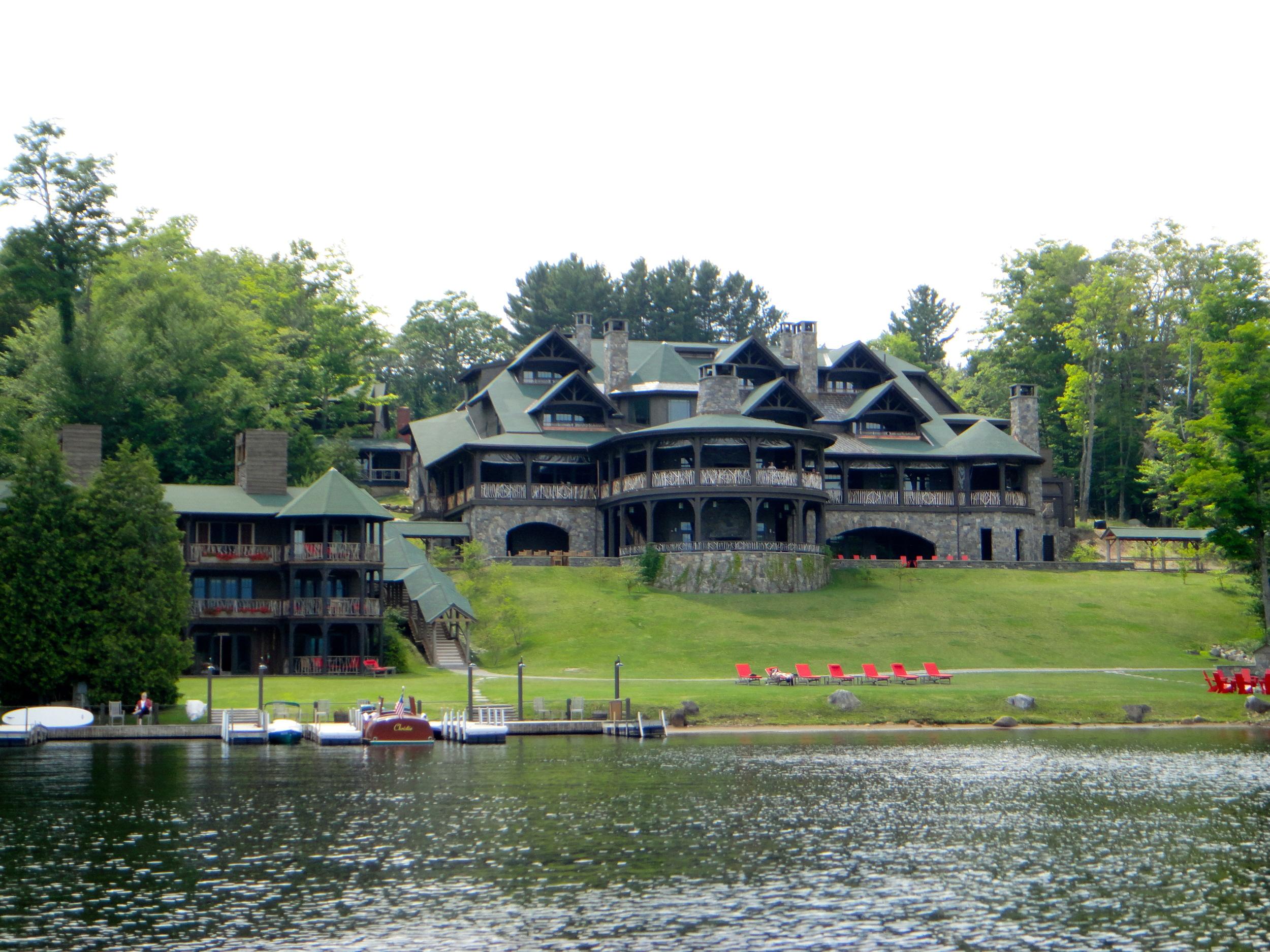 The Lake Placid Lodge on Lake Placid