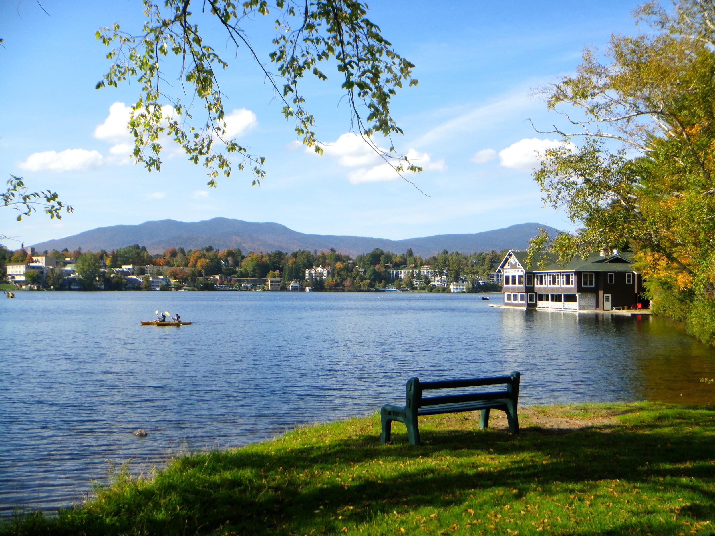 Mirror Lake bench
