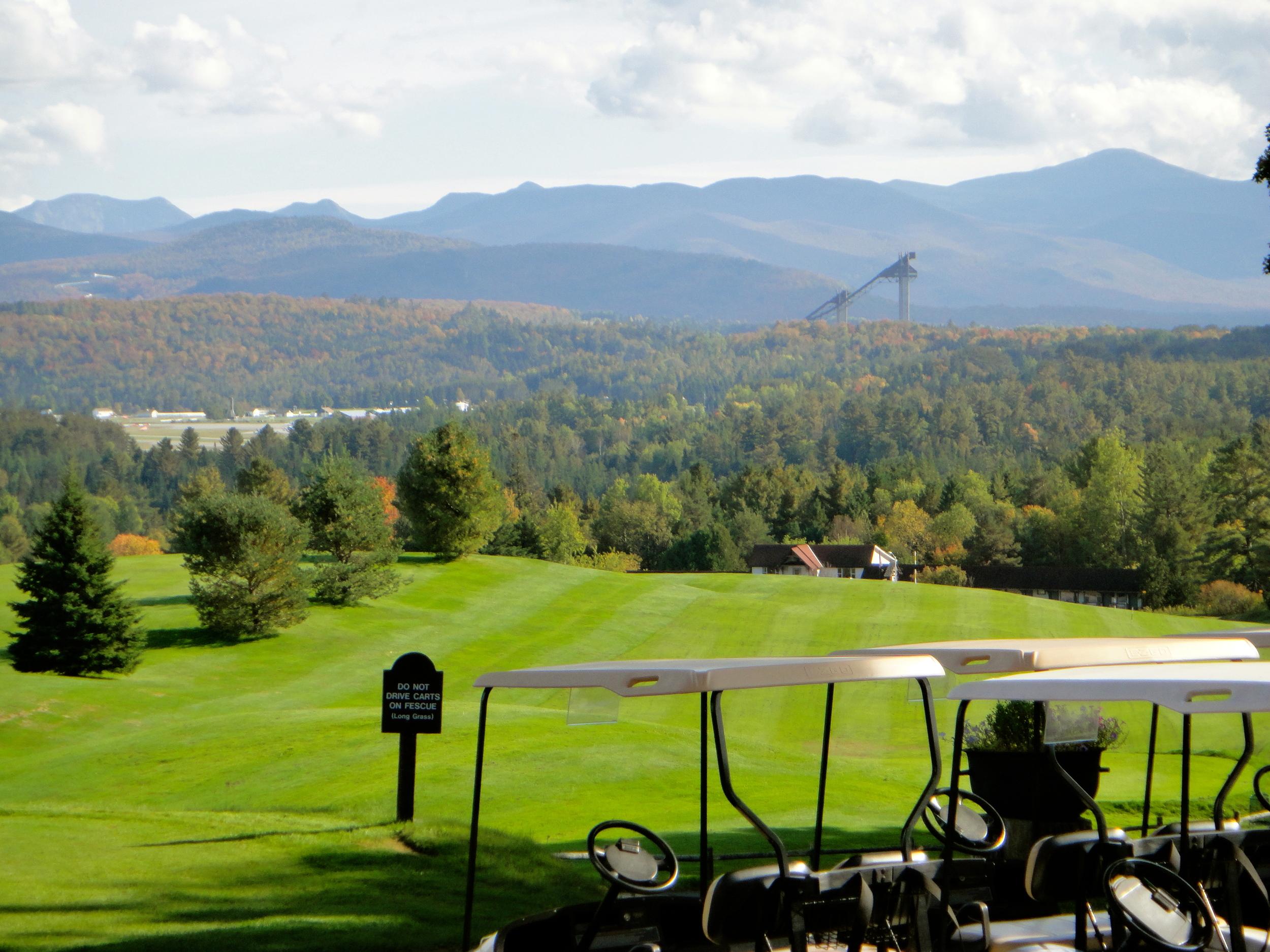 Lake Placid Club Resort golf course