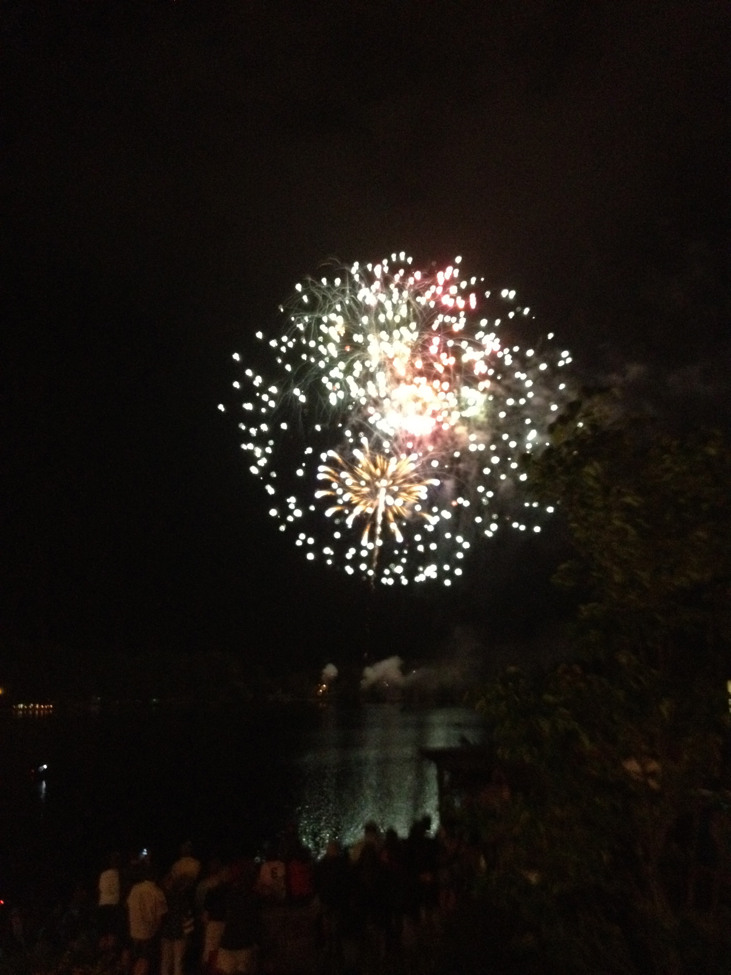 July 4th Lake Placid fireworks