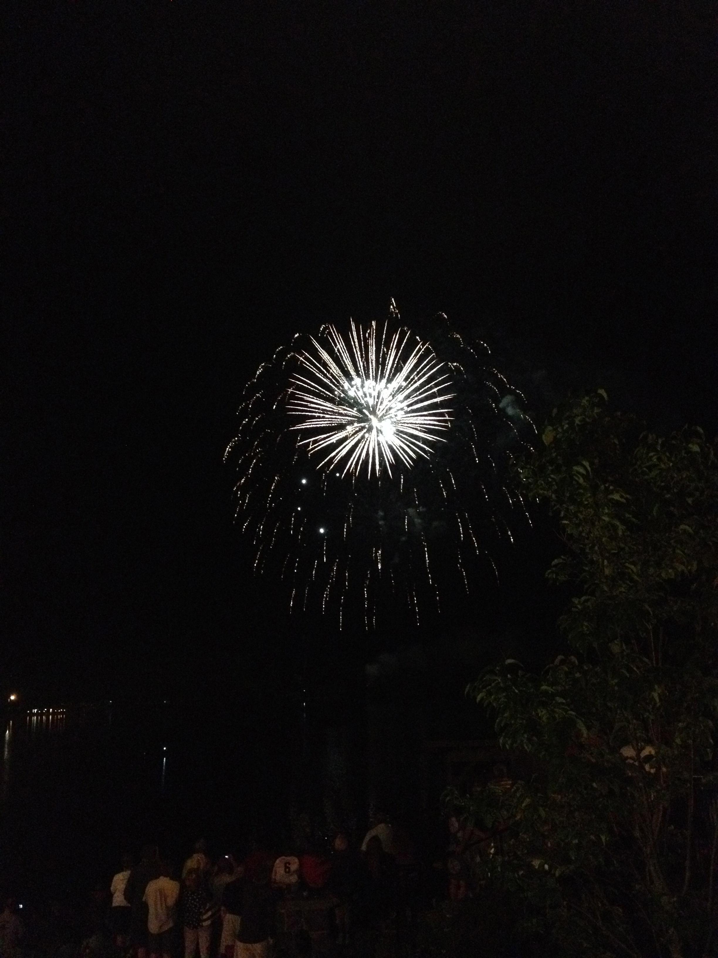 July 4 fireworks Lake Placid