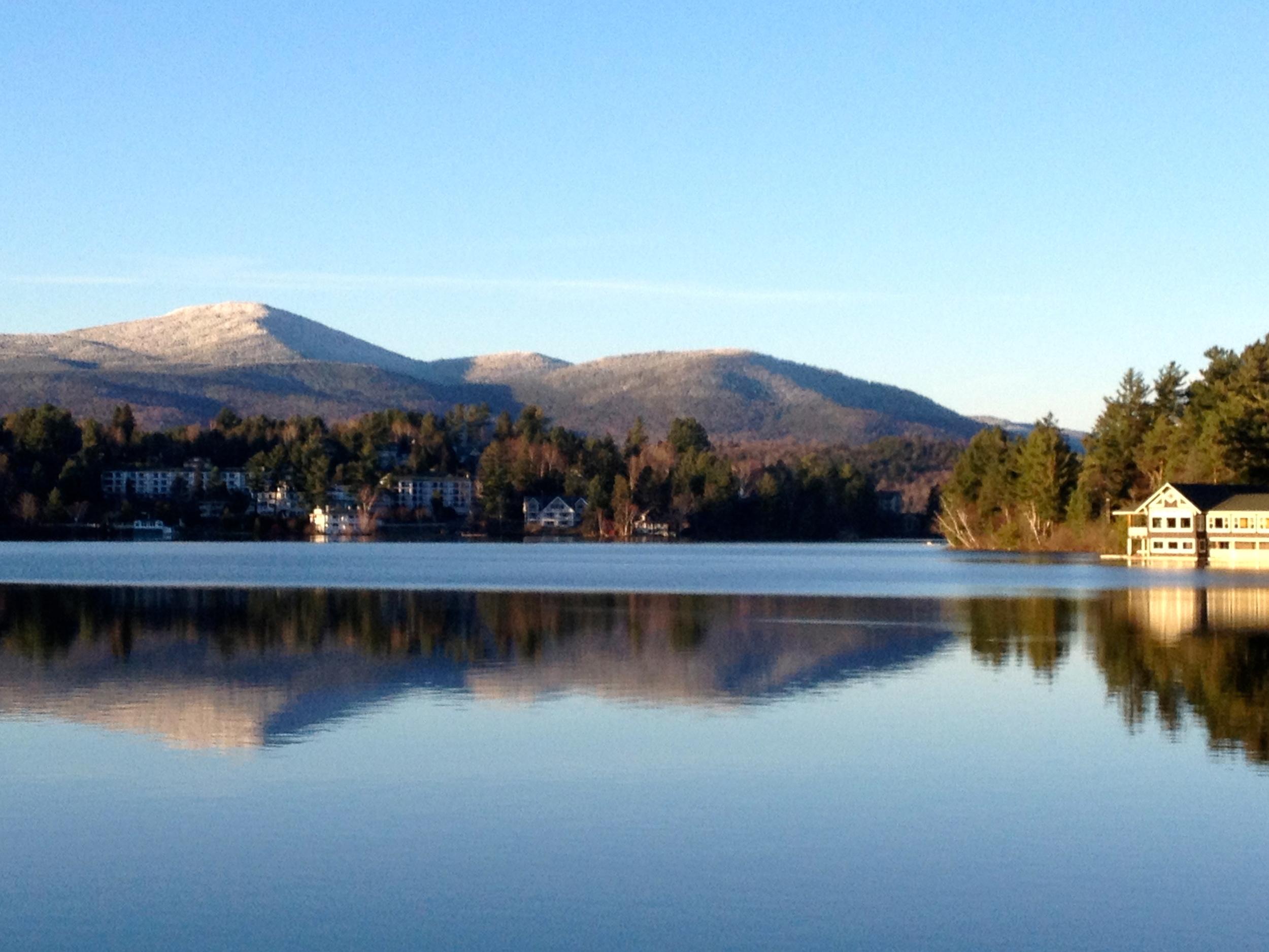 The Mirror on Mirror Lake