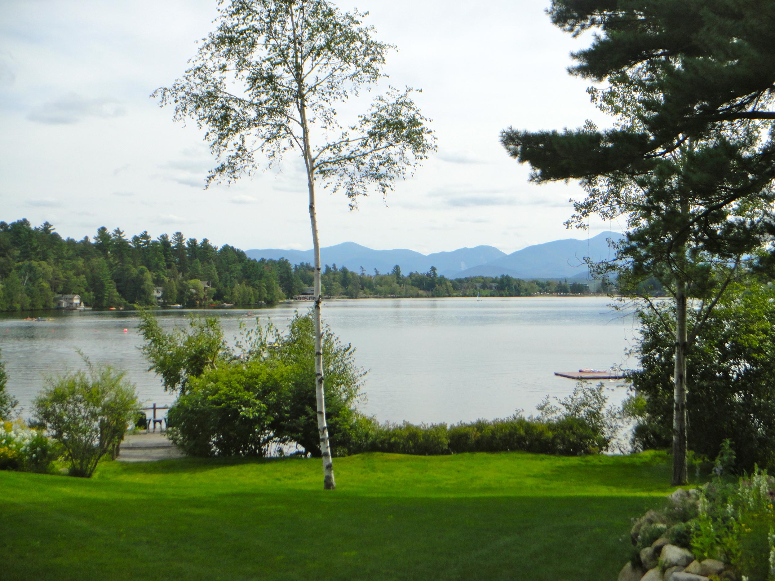 Mirror Lake Inn lawn and views