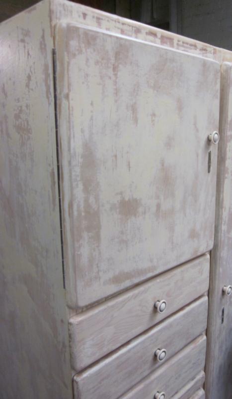 painted cupboard (detail)