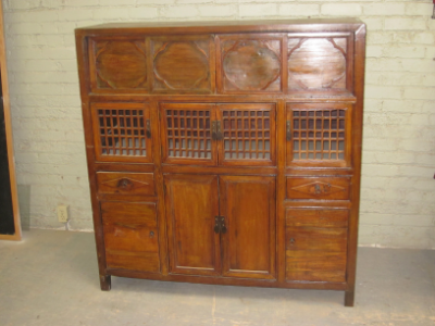 asian inspired credenza