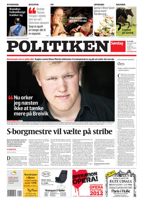 Politiken, 22.7.2012