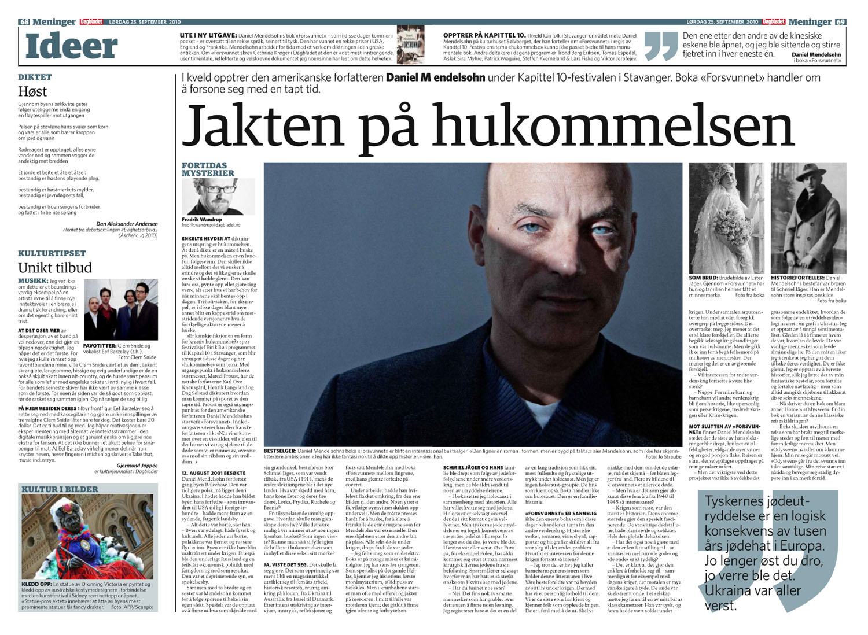 Dagbladet 29.9.2010