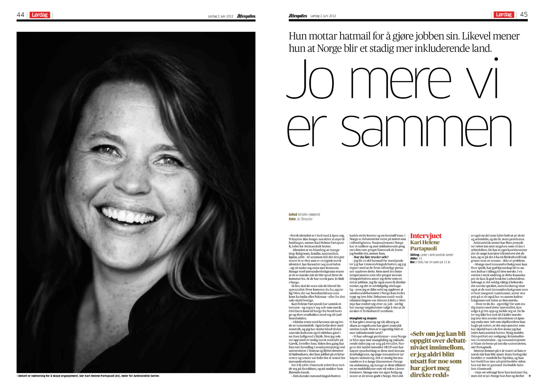 Aftenposten Lørdag 2.6.2012