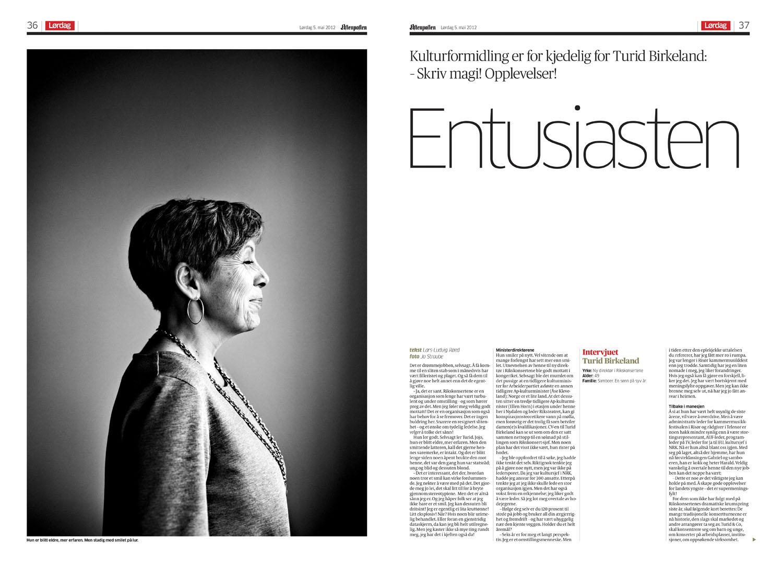Aftenposten Lørdag 5.5.2012