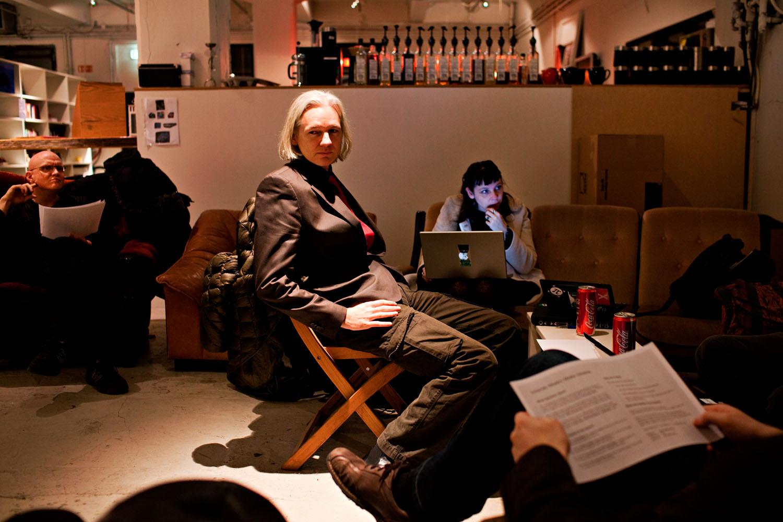 Julian Assange Reykjavik, 2010