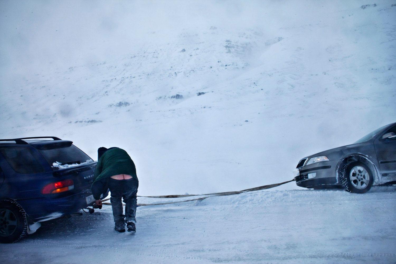 Snowstorm Iceland, 2010