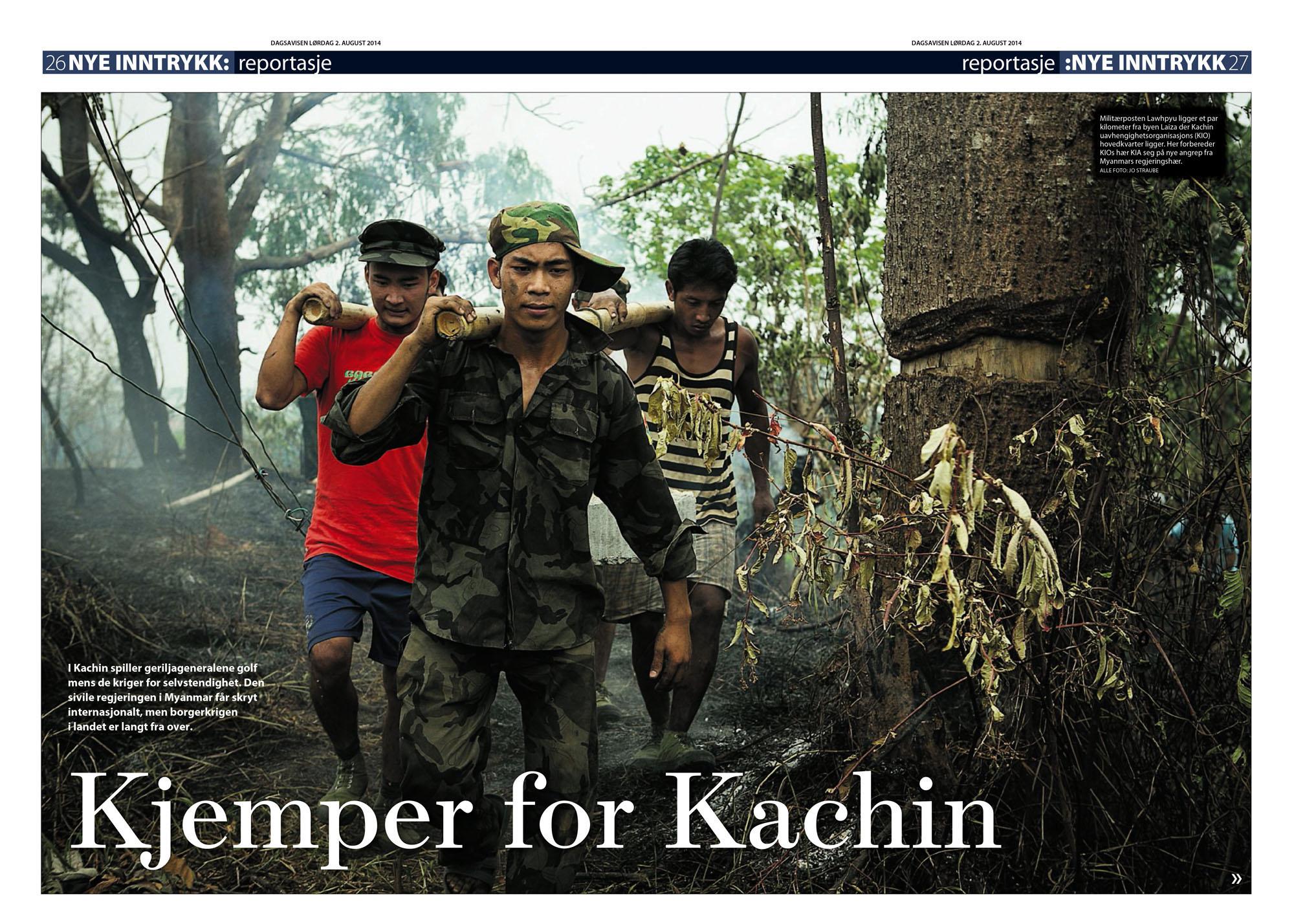 Dagsavisen, 2.august 2014