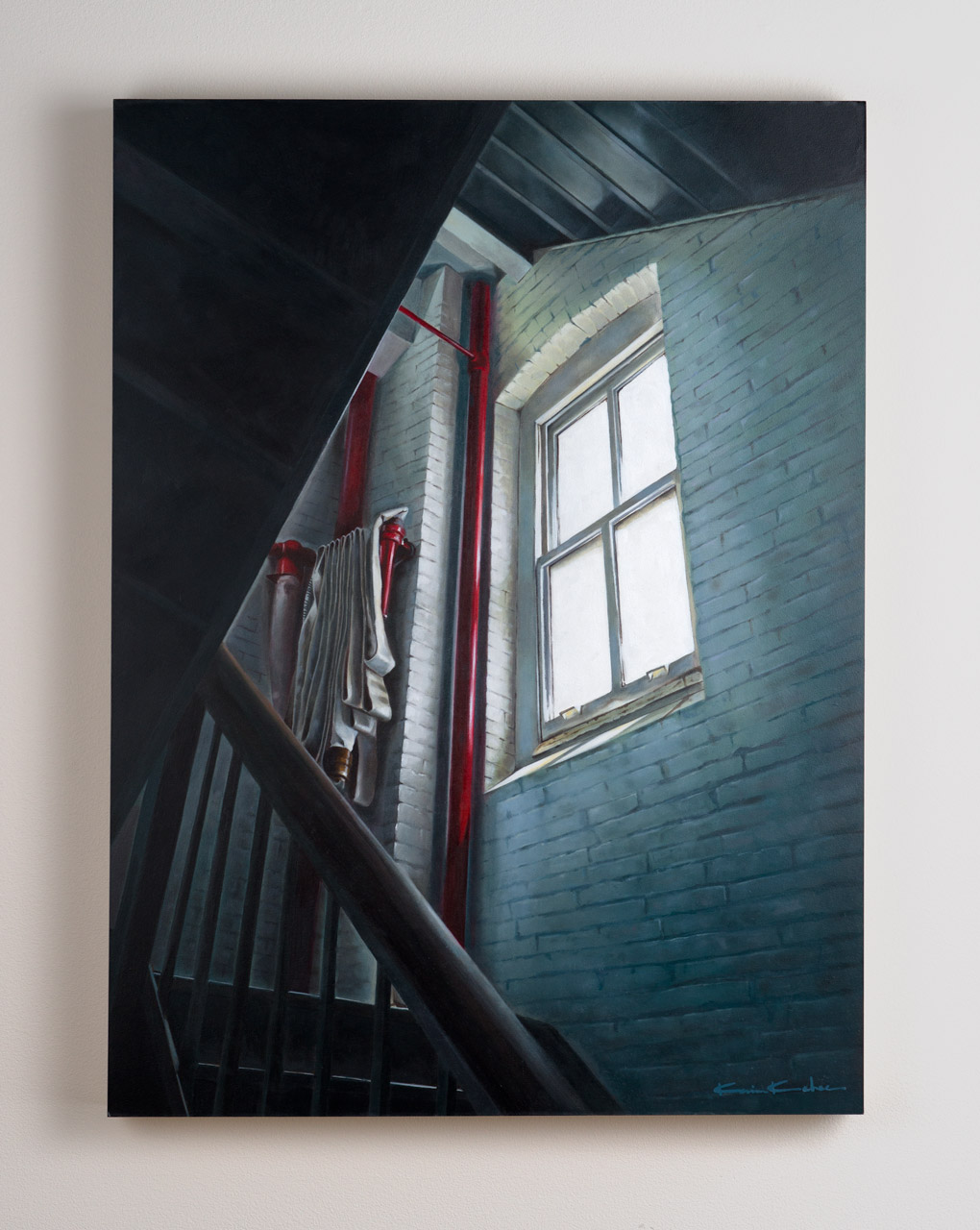 SOLD  Title:Between 4 &5   18 x 24, Oil on Board