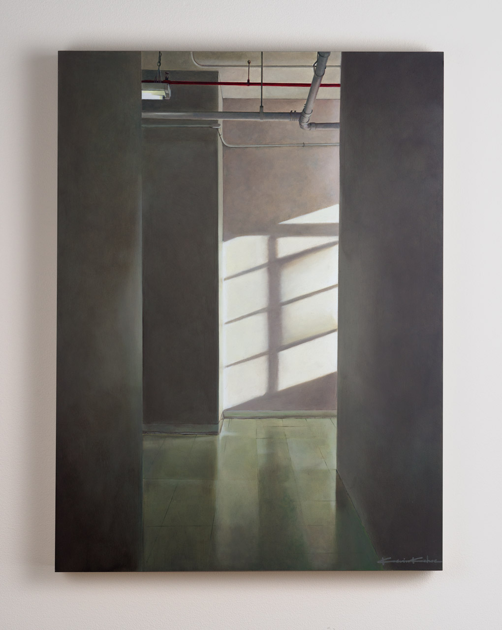 SOLD  Title: Four o'clock on West 26th (B)  18 x 24, Oil on Board