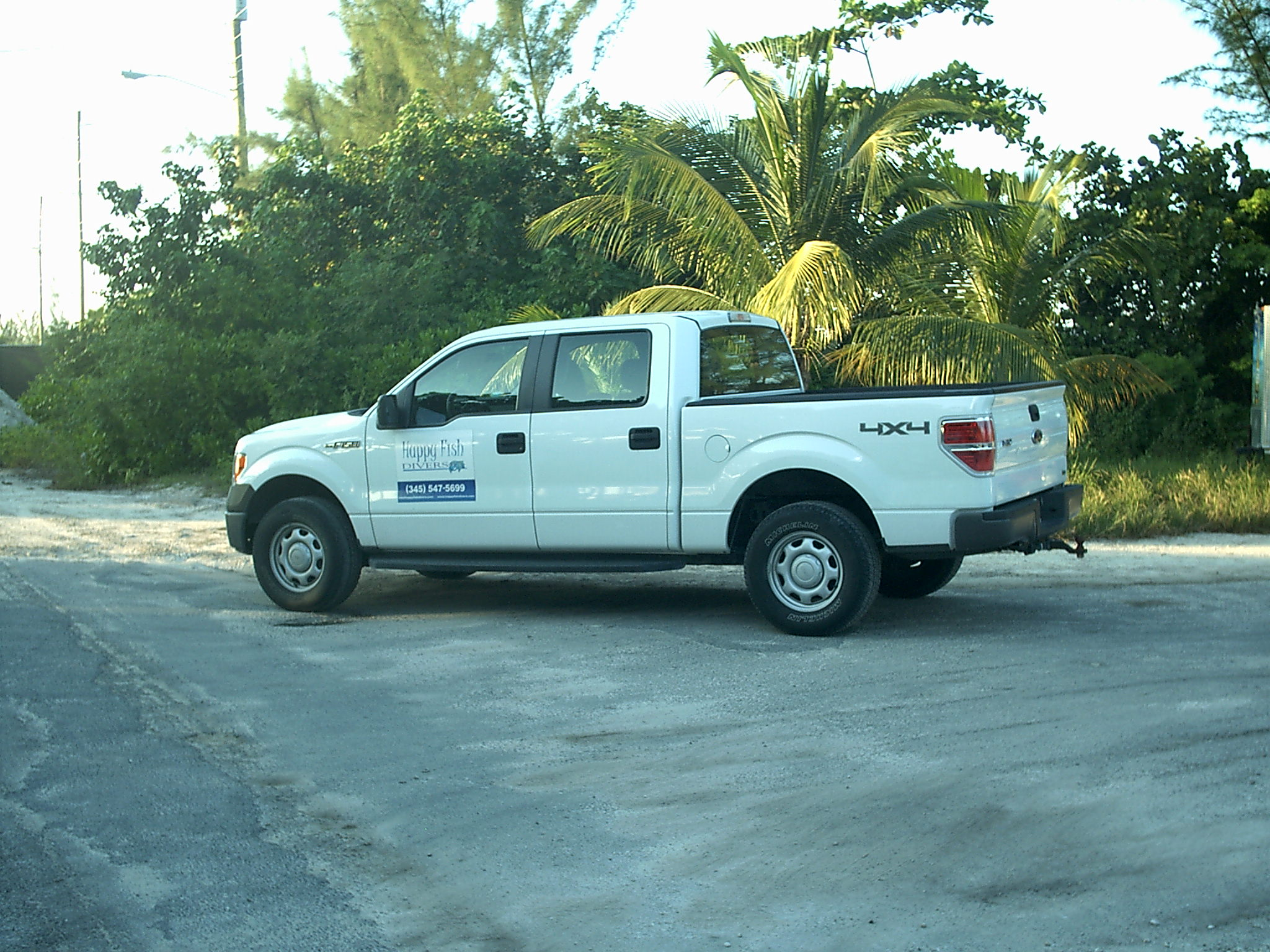 Ford F-150 Crew Cab For Up To 5 Passengers. (We Also Have a 9 Passenger Van If Needed)