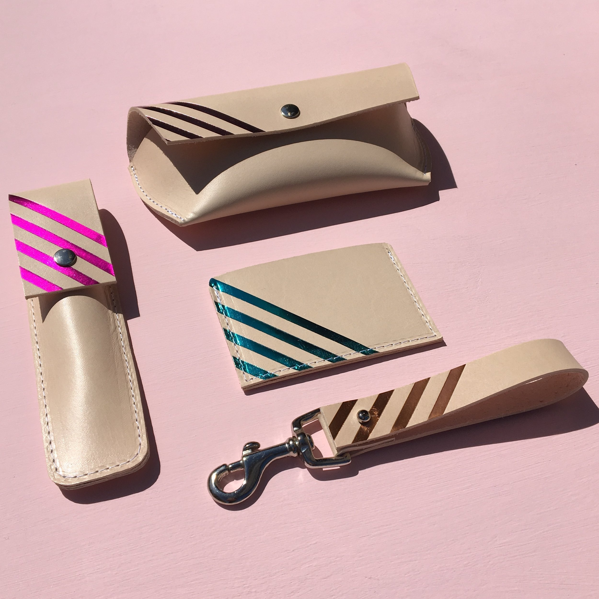 Hirsch & Kirsch Stripe accessories