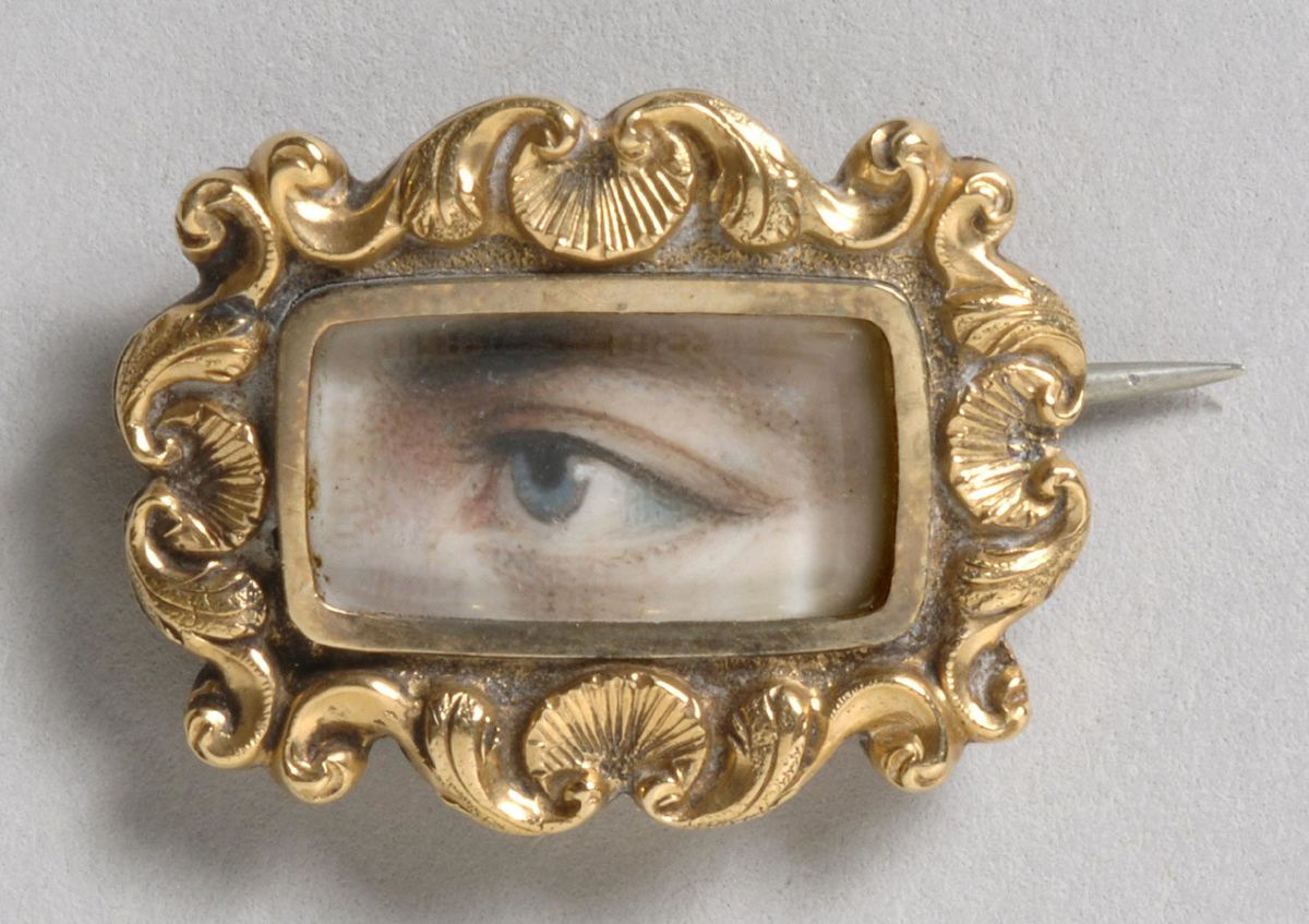 Portrait of a left eye. Courtesy of Philadelphia Museum of Art
