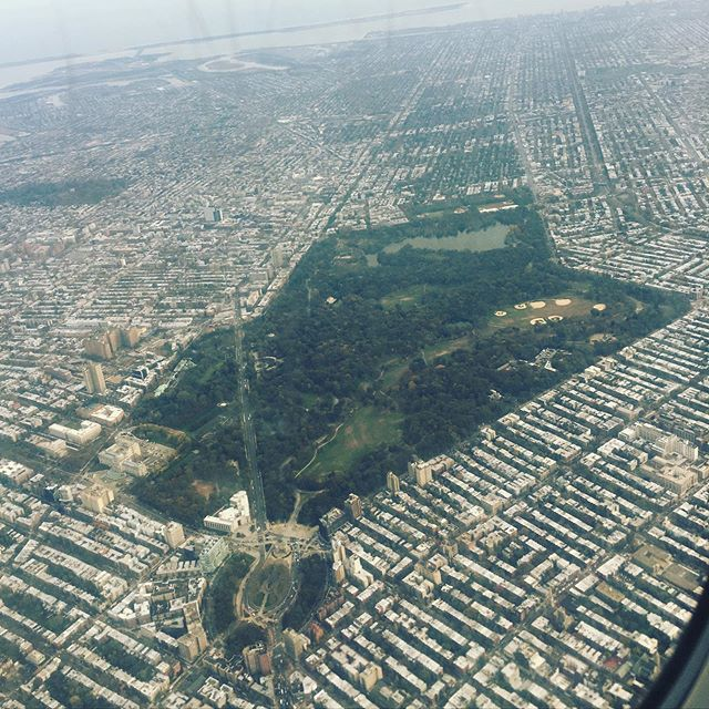 Hey! Check out this DOPE ASS picture of Prospect Park from the sky! Look at all those last minute birthday plans!