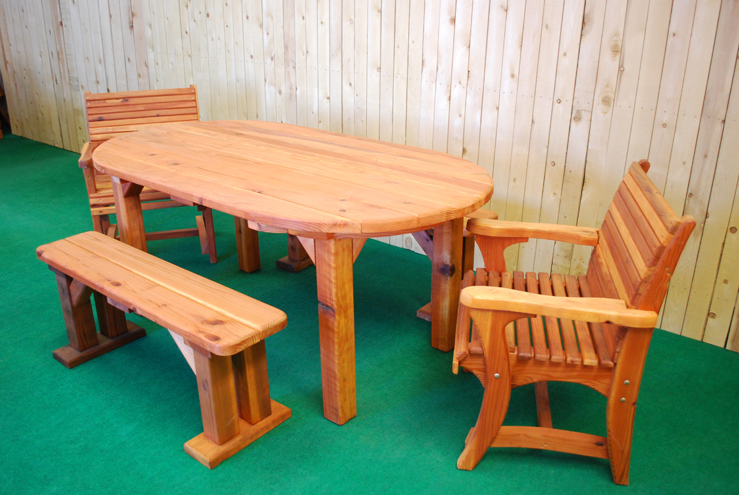 Tbl Cur 72 Quot Oval The Redwood Store