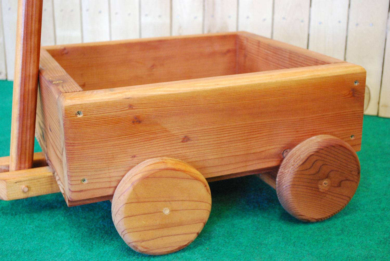 redwood wagon planter