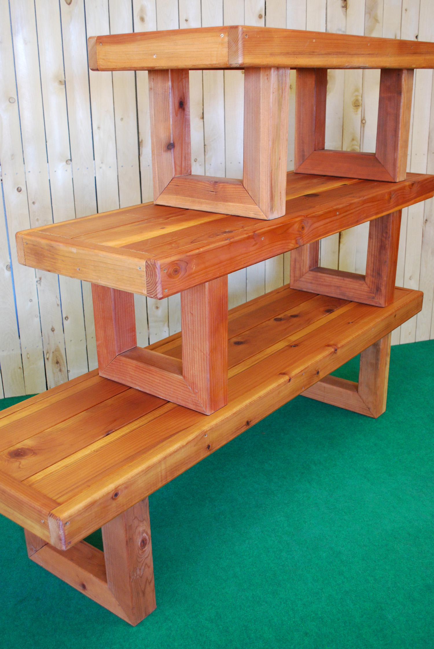 redwood contempo bench (all 3 sizes)