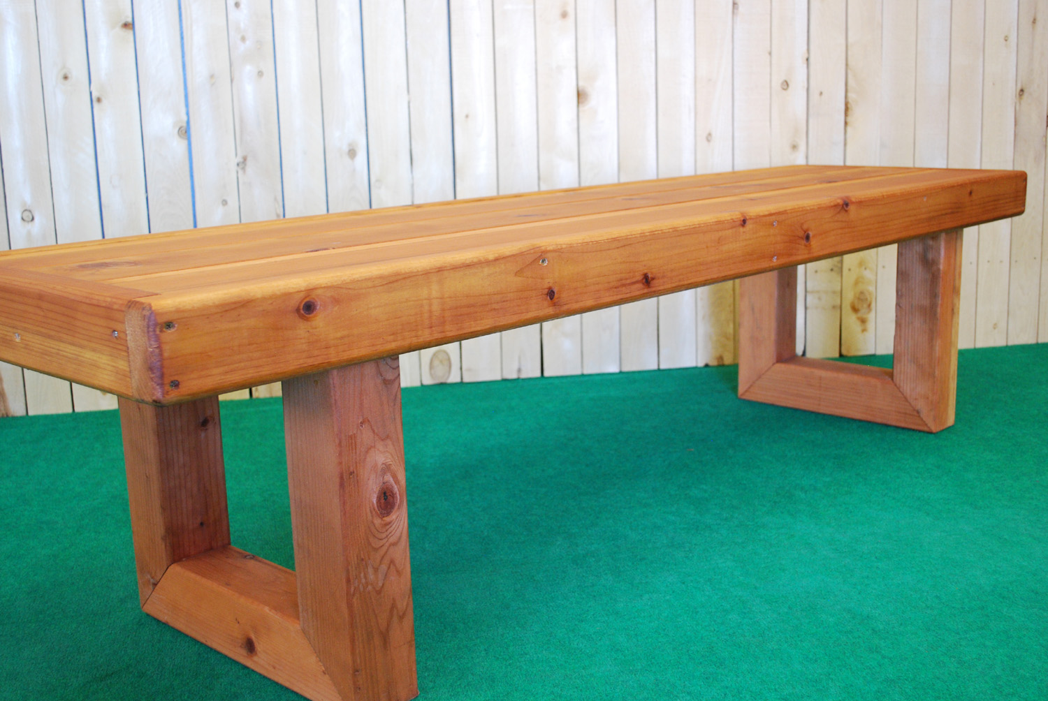 redwood contempo bench (large)