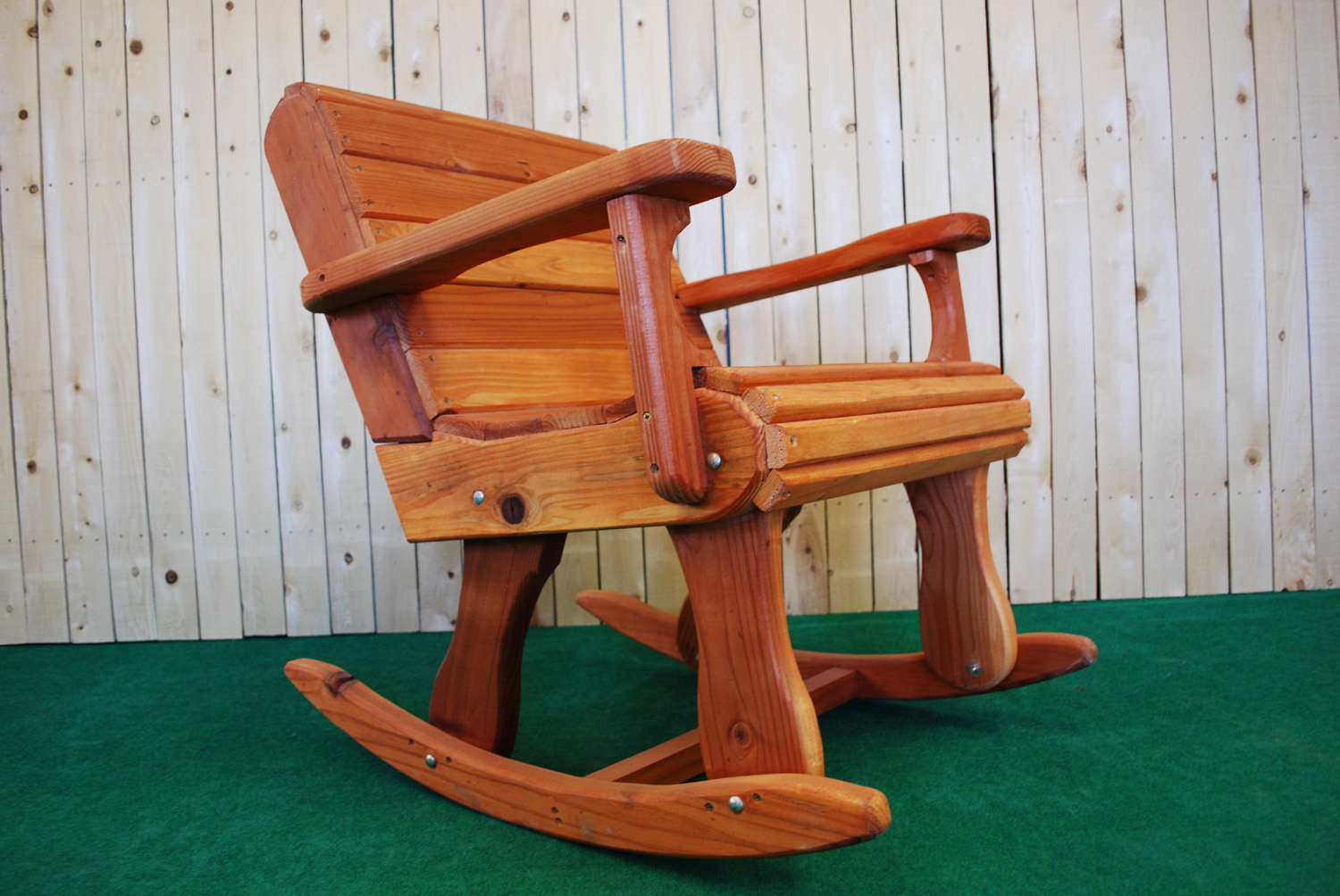 "30"" redwood rocker"