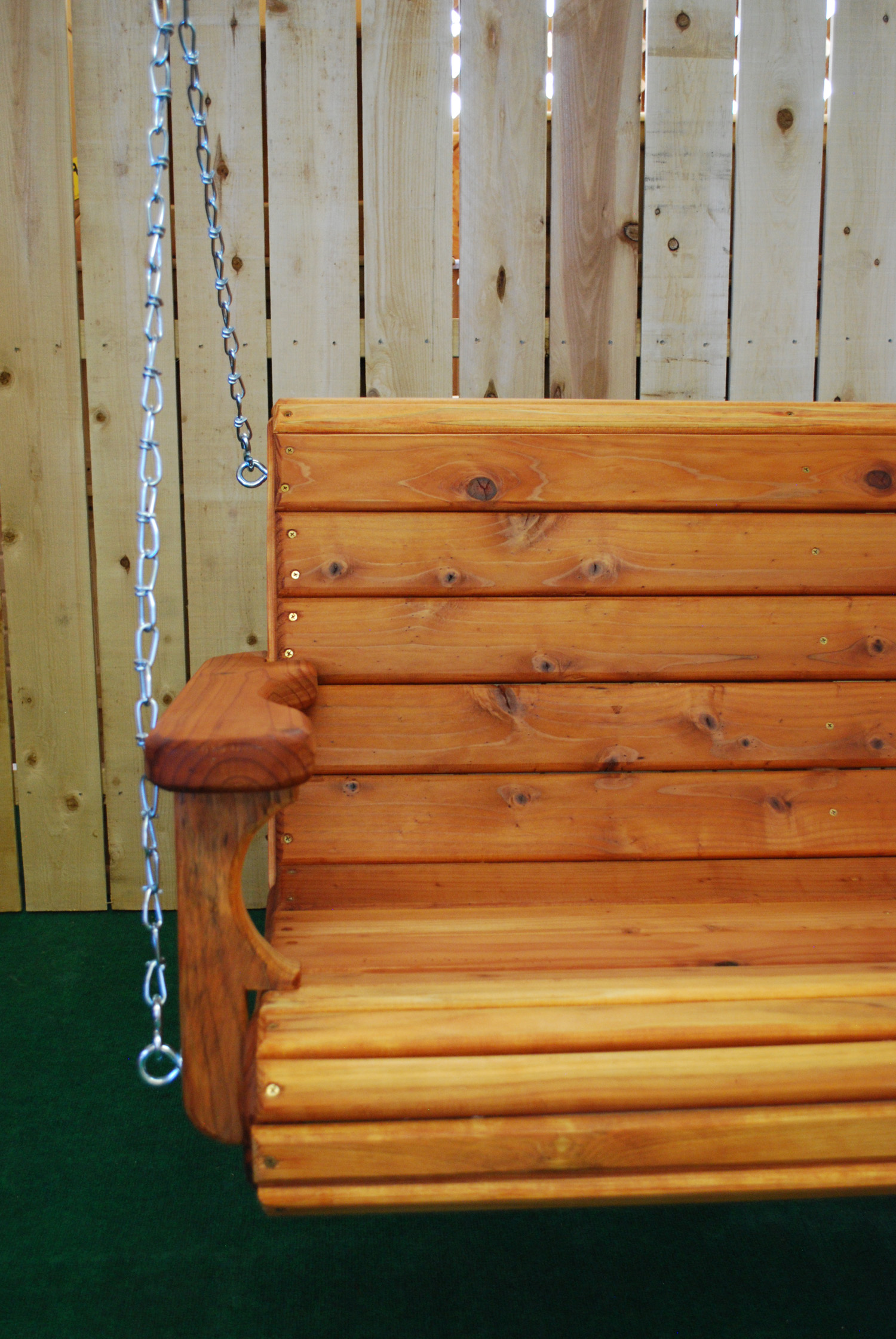 "48"" redwood swing"