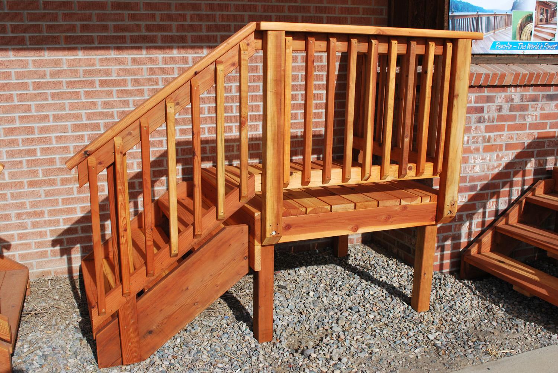 redwood pre-built decks
