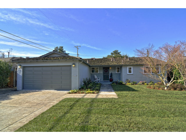 1840 Appletree Ln, Mountain View 94040 Listed: 1/11/2013 for $1,399,00 Sold: 2/22/2013 for $1,550,000 That's 11% over asking and $1211/sq ft of living space.