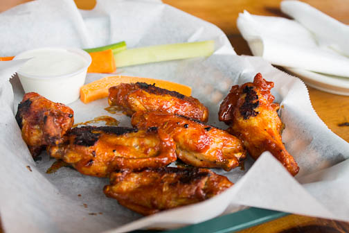 Uncle Donnie's Famous Blackened Wings