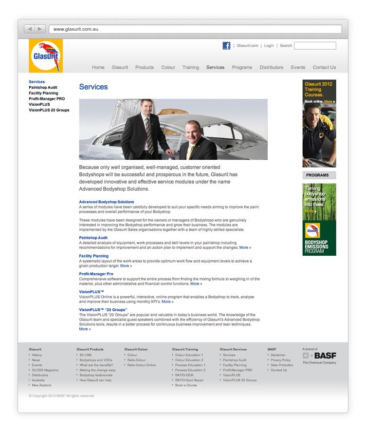 BASF Glasurit — BRANDING AGENCY