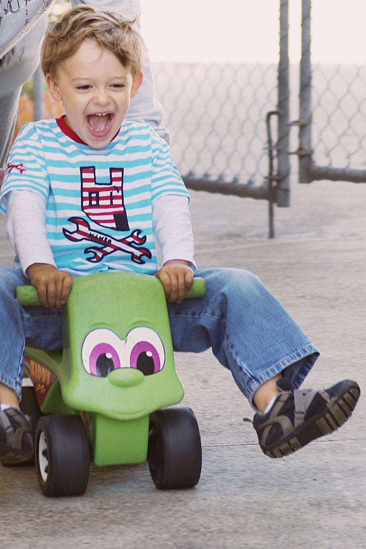 Toddler on bike!