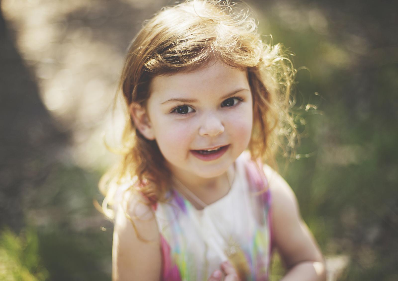 Portrait of a little girl!