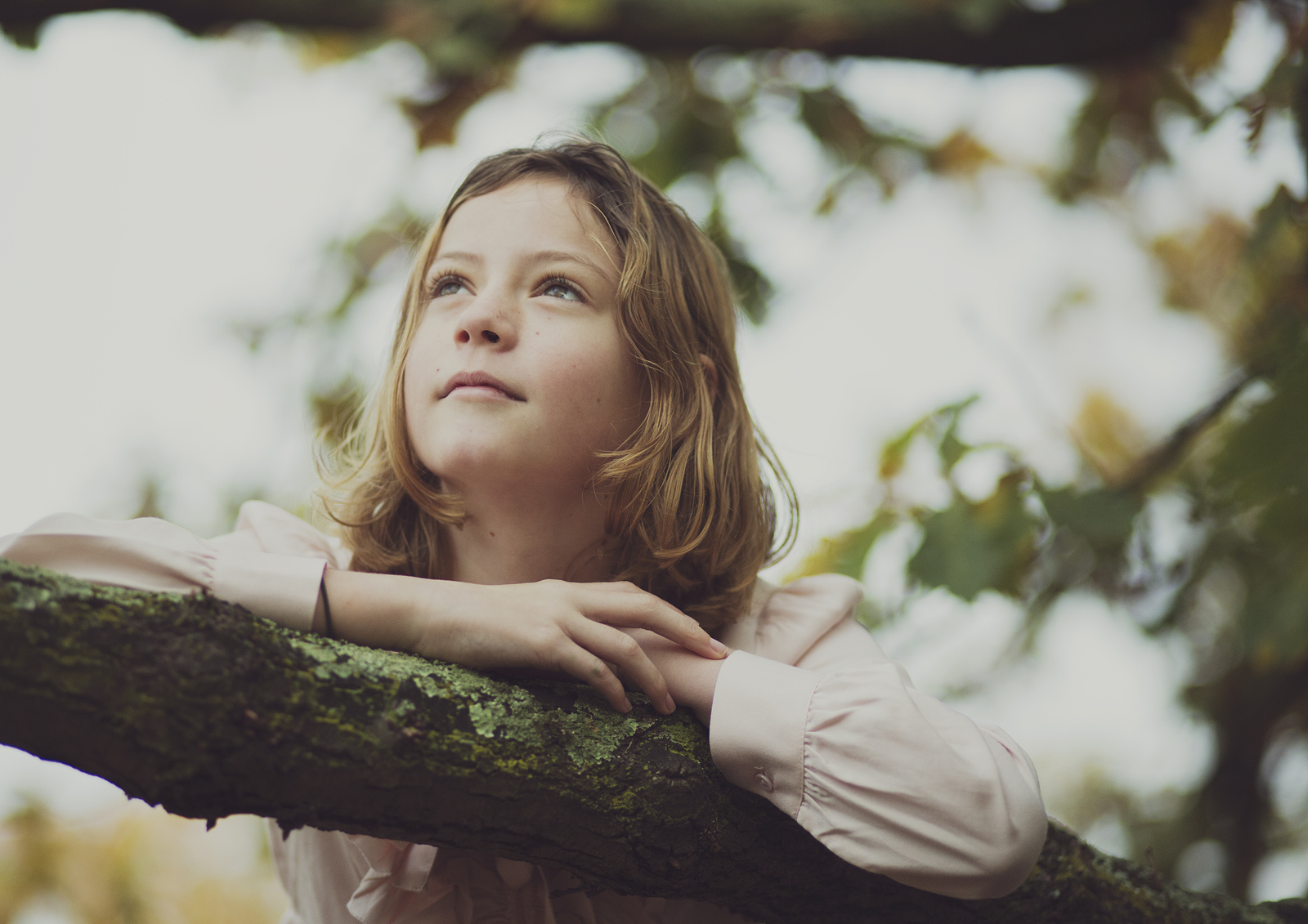Little girl daydreaming!