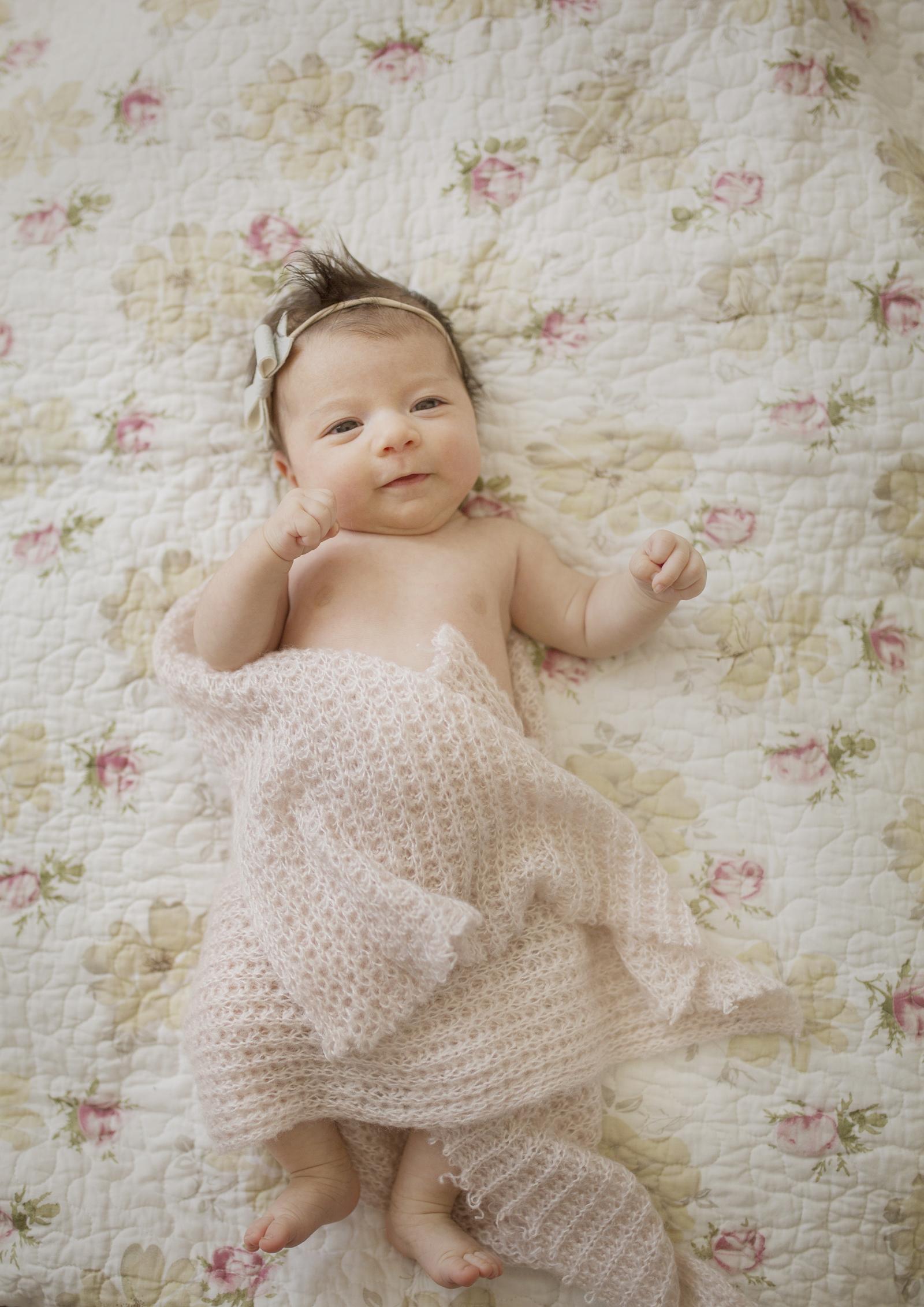 Precious newborn baby girl!