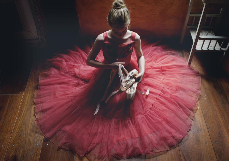 Ballet girl at Mont Du Soleil