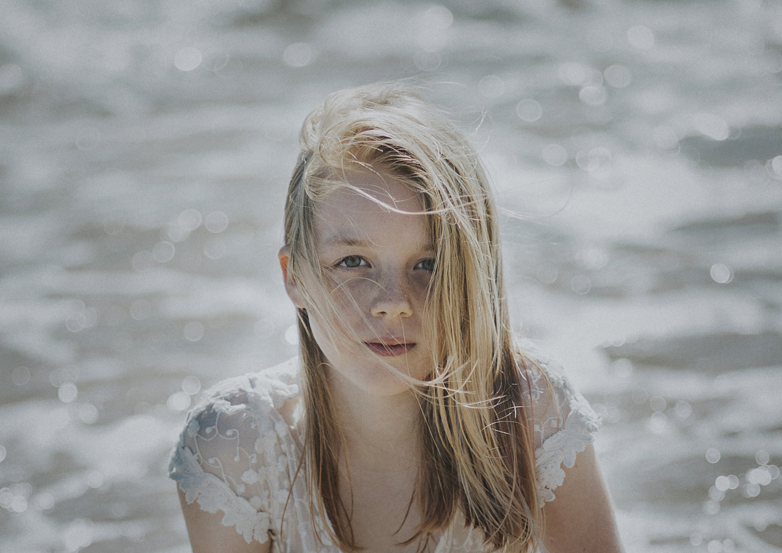Portrait of Young Tween girl